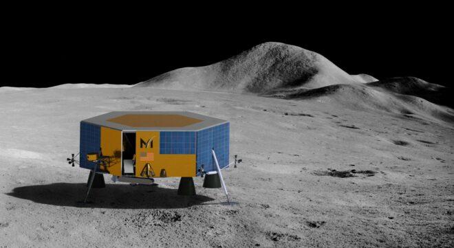 Masten Aerospace lunar vehicles motor management MGM COMPRO cooperation