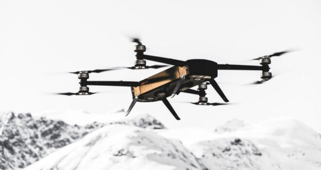 GRIFF aviation drone motor management MGM COMPRO cooperation