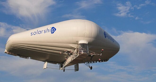 Solarship Aicraft MGM COMPRO cooperation transport Airship