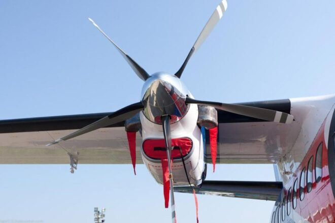 Avia Propeller propulsion system MGM COMPRO cooperation