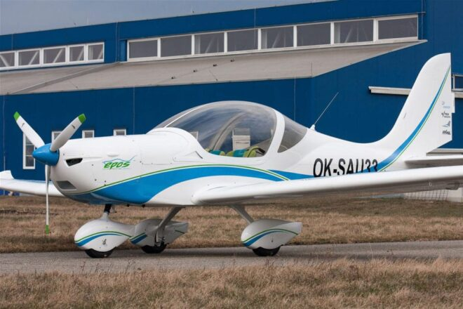 Evektor Epos electric Airplane cooperation MGM COMPRO