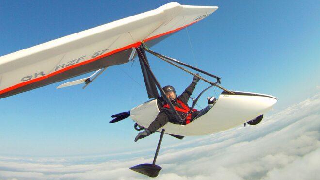 EGO TRIKE glider Ultralight Design MGM COMPRO cooperation propulsion system