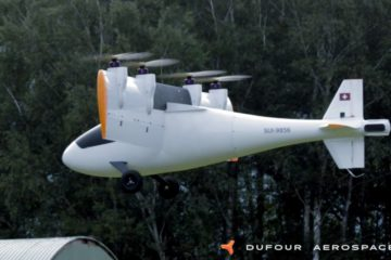 Dufour complete initial flight testing of their e-VTOL