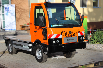 Development of ZEBRA electric utility vehicles