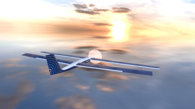 X-Sun Drones prototype visualisation MGM COMPRO cooperation