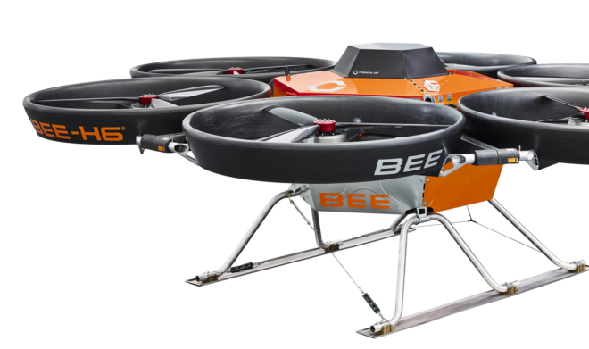 Bee Appliance drone MGM COMPRO cooperation eVTOL