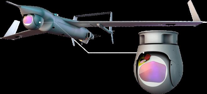 HOOD Technology UAV camera Flares MGM COMPRO cooperation