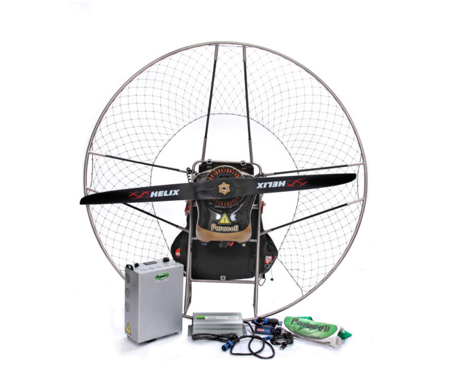 paracell paramotors cooperation with MGM COMPRO