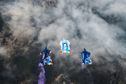 THE ELECTRIFIED WINGSUIT – BMW Engrossing Project